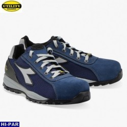 Guante latex. Flocado. Negro. T950FL
