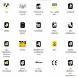 Latex gloves. Support of cotton. 688-LT TOP