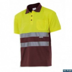 High visibility trousers. Softshell Combi S9820