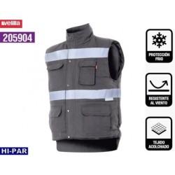 Pantalon de travail. 100 % coton. Couleur bleu foncé.