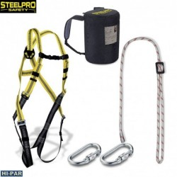 Working trousers. Removable pants.