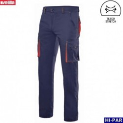 Pantalon canvas multibolsillos Serie 103011