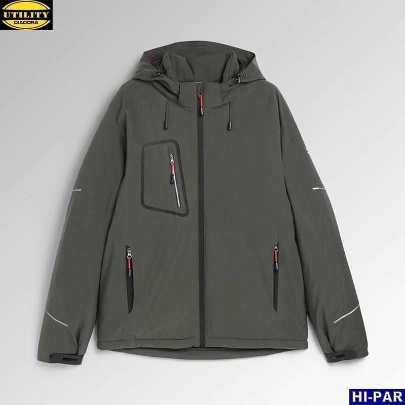 Pantalon stretch bicolor multibolsillos alta visibilidad