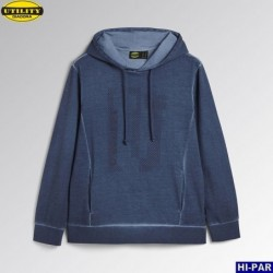 Sudadera Bicolor media cremallera 105704