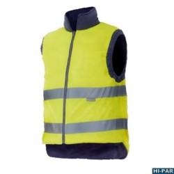 Camicia gialla ad alta visibilità, manica lunga serie 143