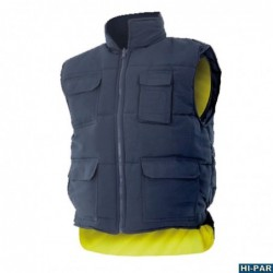 Shirt high visibility, yellow sleeve long series 143