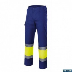 High visibility vest fire-retardant anti-static