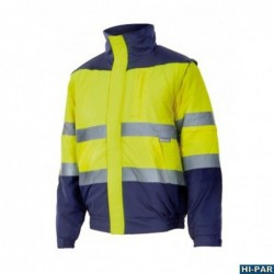 Orange vest multi-Pocket