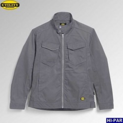 Pantalon de travail. Multi-poche stretch bicolore. 103008S