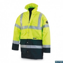 Overalls - work high visibility yellow ECO. 388-BFYE