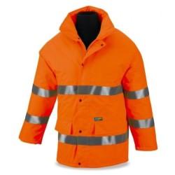 Salopettes - haute visibilité de plongeur travail jaune ECO. 388-BFYE